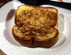 This is not my grilled cheese sandwich